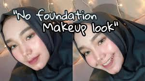 review tutorial makeup sehari hari no foundation makeup look tutorial makeup sehari hari youtube