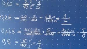 was sind dezimalbrüche mylime mathe