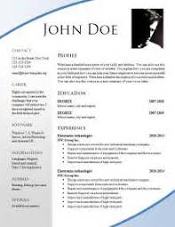 Attractive Resume Templates Attractive Resume Format Looking For A Specific Sample Resume To