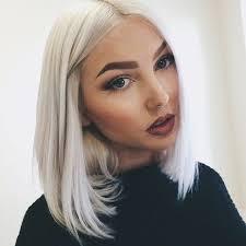 haircuts for white hair best 25 white blonde bob ideas on pinterest short white hair