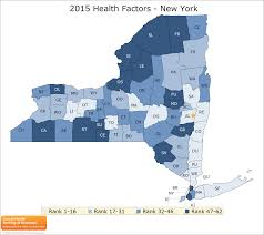 New York State County Map by New York County Health Rankings U0026 Roadmaps
