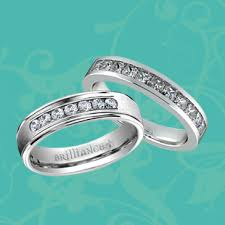 win a wedding ring get a chance to win this sparkling his hers wedding ring set