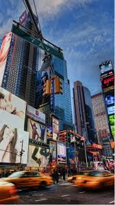 times square galaxy lockscreen android wallpaper free download