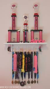 diy trophy shelf shelves dancing and room