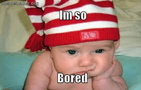 Bored Meme - bored baby â meme maker â make a meme online