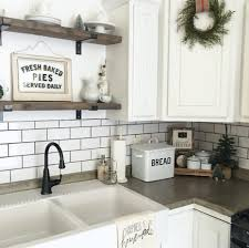 backsplash ideas for white cabinets and granite countertops
