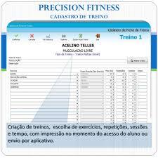 Common Precision Fitness - Software p/ Academias - Precision Sistemas &LW69