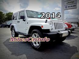 jeep rubicon white 2014 jeep wrangler sahara white 4462 youtube