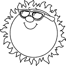 summer sun coloring page wecoloringpage