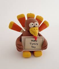 happy turkey day with polymer clay of course polymer clay