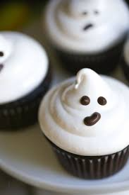 Easy To Make Halloween Snacks by Easy Ghost Cupcakes Video What Should I Make For