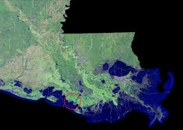 New Orleans On Map New Study Maps Rate Of New Orleans Sinking Nasa