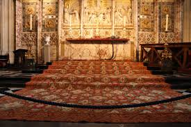 Windsor Rug Windsor U0027s Castle St George U0027s Chapel Altar Rug Side Cord Repair