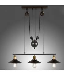 Pendant Light Pulley System Furniture Lighting Casavibes