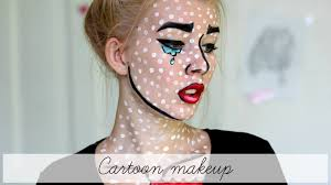 halloween makeup cute halloween cartoon makeup youtube