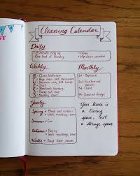 cleaning inspiration creating a cleaning calendar is a great way to prevent that mess