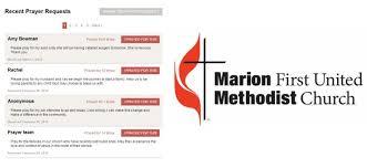 methodist prayer united marion methodist church marion ia www