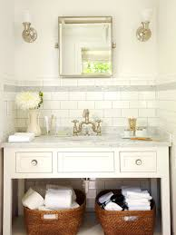 Bathroom Vanity Backsplash by Ivory Subway Tile Backsplash Design Ideas