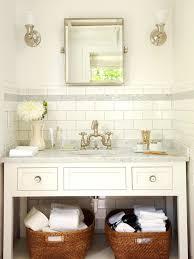 Subway Tile Backsplash Cottage Bathroom BHG - Tile backsplash bathroom