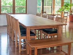 mission style dining room set gary bursey furniture
