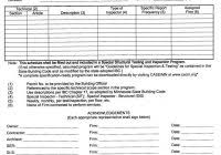 sample home inspection report template and printable home