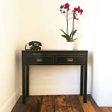 black sofa table with drawers chinese console table new black lacquer with 2 drawers tables