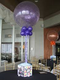 balloon centerpiece mitzvah party balloon centerpieces theme ideas mazelmoments