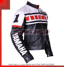 white leather motorcycle jacket yamaha black white racing leather motorcycle jacket all sizes