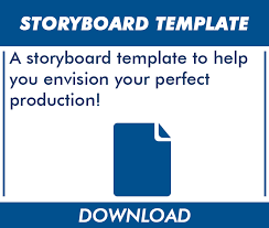 download storyboard template the video experts