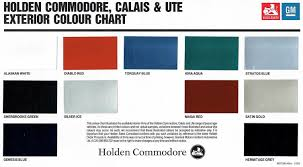 holden commodore brochures
