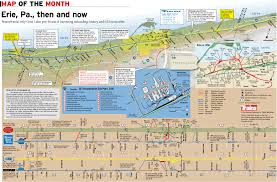 Southern Ohio Map by Trains Magazine Map Of The Month Is Erie Pa U2013 Lake Shore Railway