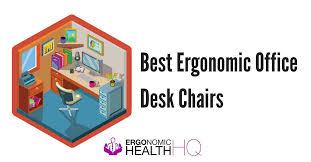 best office desk chair best ergonomic office desk chairs top 5 review