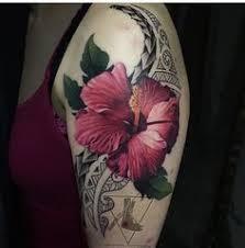 hibiscus tattoo flor amapola sleeve tattoo ideas pinterest