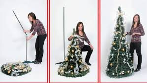 collapsible christmas tree 6 ft pre lit pop up decorated collapsible christmas tree 350 clear
