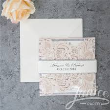 paper for invitations belly bands wholesale wedding invitations wedding cards