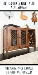 sideboard cabinet with wine storage diy sideboard record cabinet with wine storage free plans record