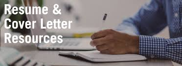 resume u0026 cover letter resources career centre