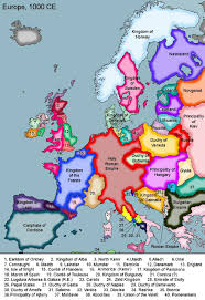 Political Map Europe by Historical Map Of Europe 1000 Ad History Pinterest Family
