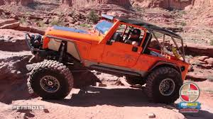 moab jeep safari 2014 stalking the moab rim trail at easter jeep safari 2015 youtube