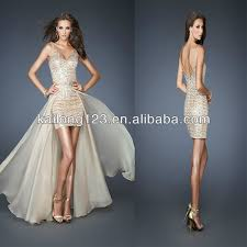 aliexpress com buy splendid sequined short cocktail gown beaded