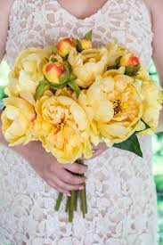 Peonies Bouquet Peony Bouquet Yellow
