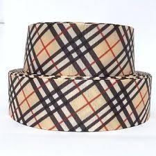 plaid ribbon ebay