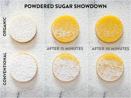 bravetart what u0027s different about organic powdered sugar and why