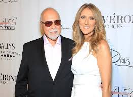 selin dion celine dion holds a replica of late husband s hand before each