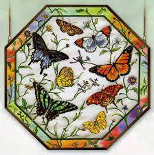 stained glass butterfly l 30 best octagon stain glass images on pinterest stained glass
