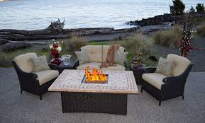 patio dining sets with fire pits best of all weather patio furniture architecture nice