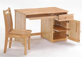Childs Wooden Desk Spices Collection Clove Desk In Natural Finish Night And Day
