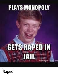 Patrick Stewart Meme Generator - plays monopoly gets raped in jail memegenerator net jail meme on me me