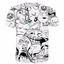 Internet Meme Faces - viral internet meme faces funny design casual style t shirt woof