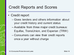 trw credit bureau copyright 2007 thomson south chapter 9 credit problems and
